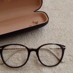 レトロかわいいボストンメガネを購入。