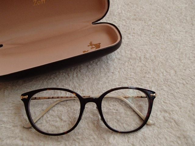 レトロ かわいい ボストン メガネ