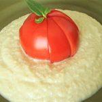 丸ごとトマトの豆腐ペーストサラダ☆レシピ~ホンマでっか より